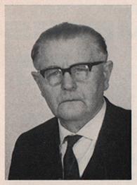 Vereinsgründer Wilhelm Tenhaven